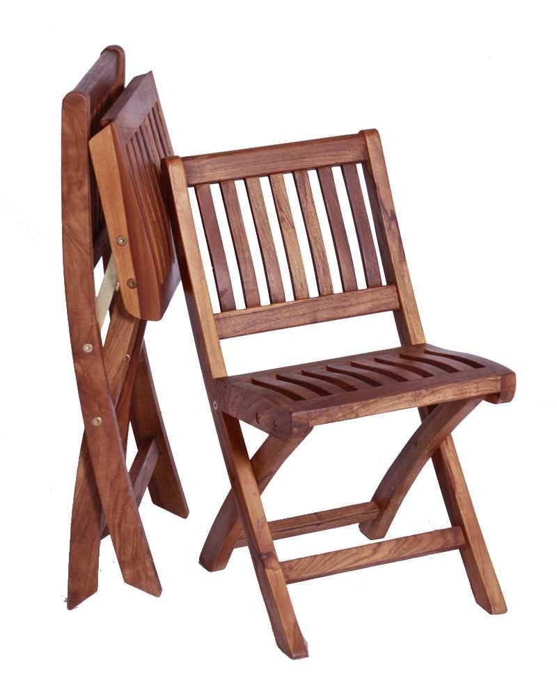 Antique Wooden Folding Chair