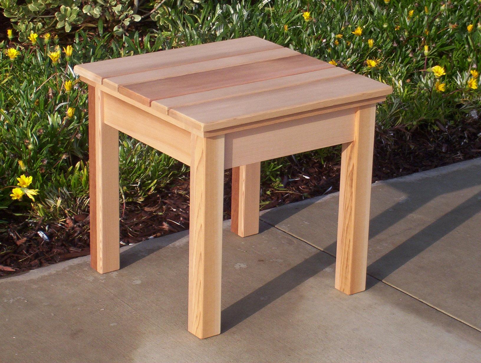 Merveilleux Cedar End Tables   Foter