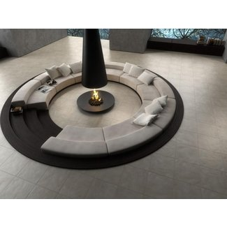 Circular sectional couch