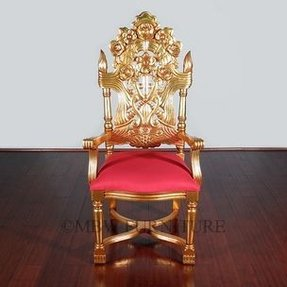 Carved Mahogany Arm Chair Foter