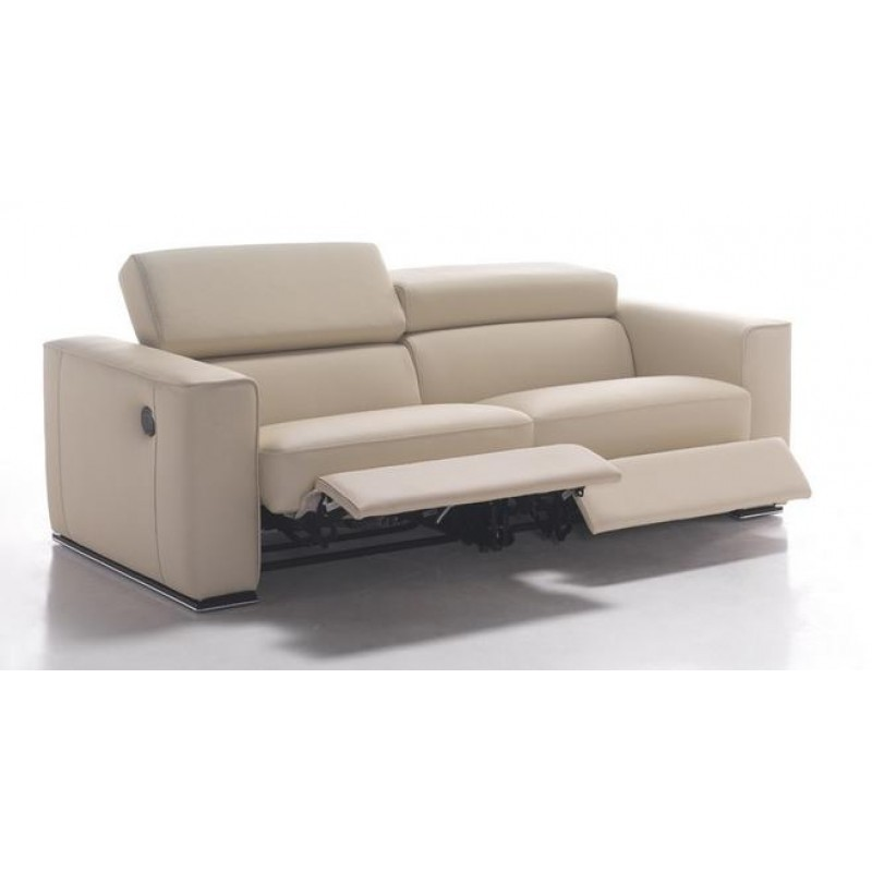 Superieur Gh 228 Modern Reclining Sofa Electronic Recliners Flip Back Function