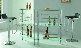 Glass home bar furniture 17