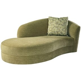 Green sectional sofa with chaise