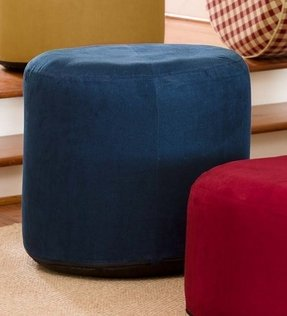 Large Round Ottomans Foter