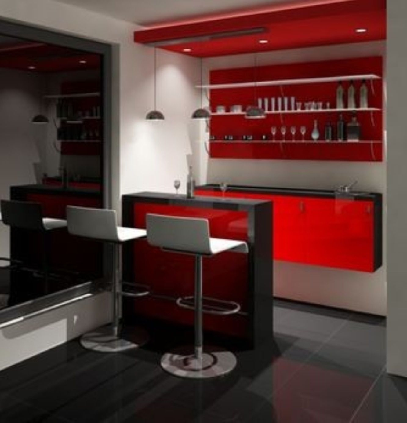 Gentil Modern Home Bar Furniture