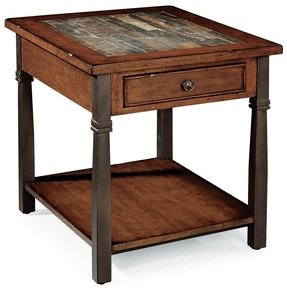 Peters Revington Oslo Stone Top End Table