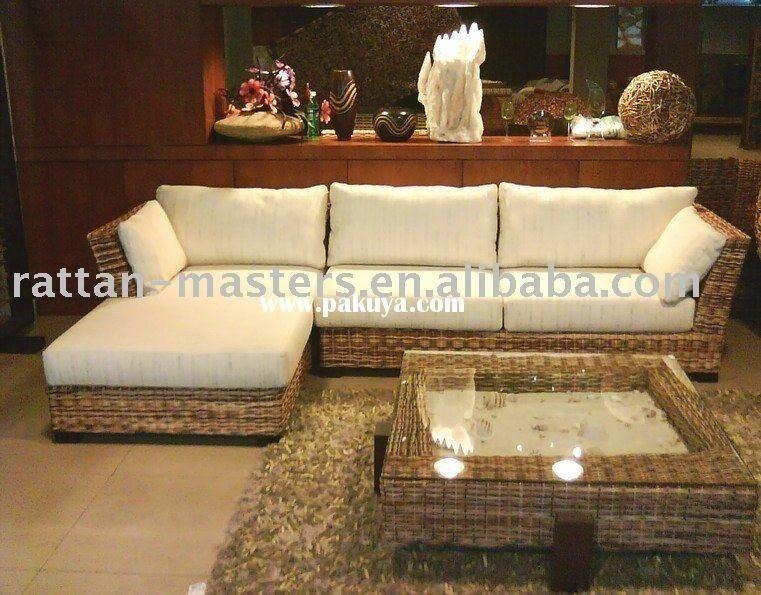 Rattan living room sets 3 & Rattan Living Room Sets - Foter