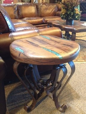 Southwestern end tables
