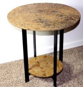 Stone end tables 1