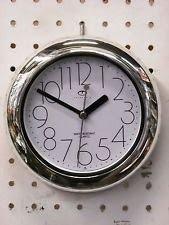 Telesonic 7 Bathroom Wall Clock 8347s