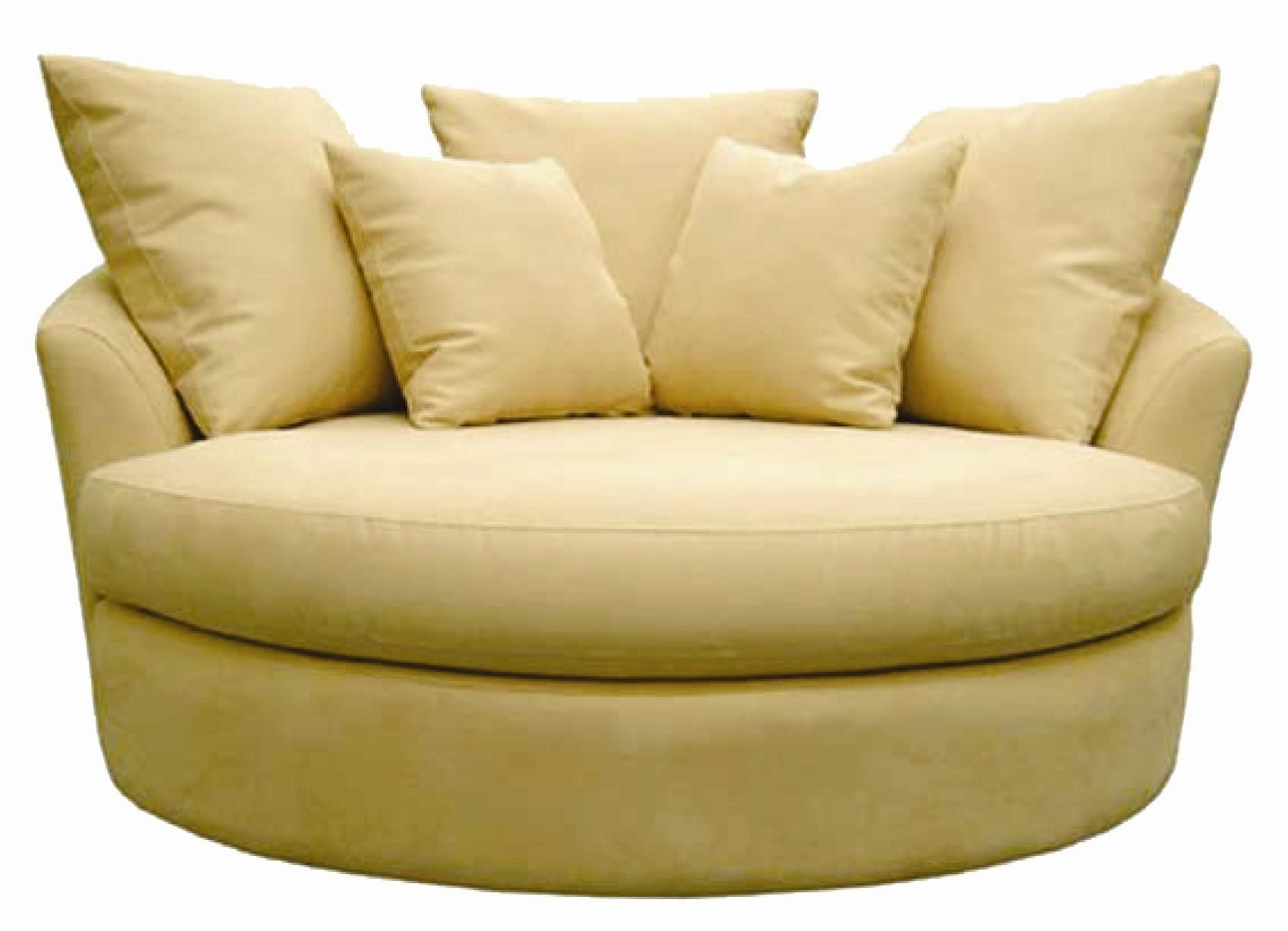 Upholstered Round Swivel Chairs For Living Room Beautiful Round Swivel