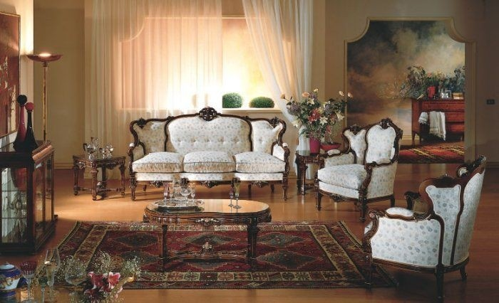 Victorian Style Living Room Furniture 1