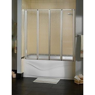 2 panel shower screen