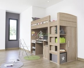 various colors 6ea3c da6f5 Best Loft Beds With Storage Underneath for 2020 - Ideas on Foter