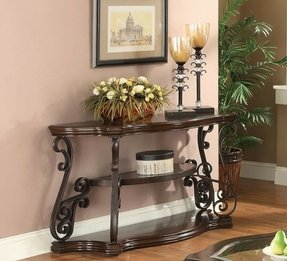 Metal Sofa Table With Glass Top Ideas On Foter