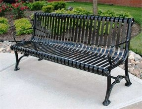 Pleasing Metal Park Benches For Sale Ideas On Foter Machost Co Dining Chair Design Ideas Machostcouk
