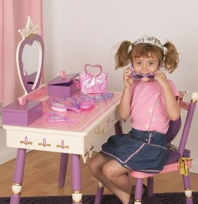 Princess Vanity Set with Mirror