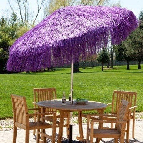 Purple Patio Umbrellas 2