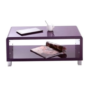 Tables coffee tables modern lacquer purple roxy coffee table