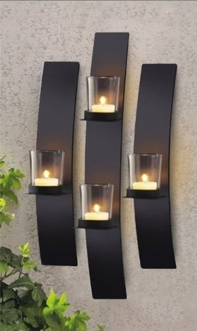 Metal Wall Art Candle Holder Ideas On