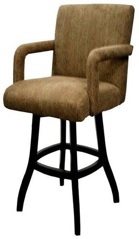 Upholstered Arm Swivel Bar Stool Ideas On Foter