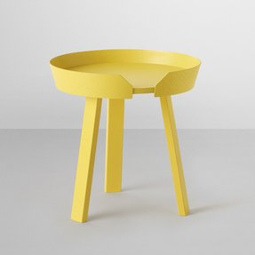 Yellow coffee tables 3