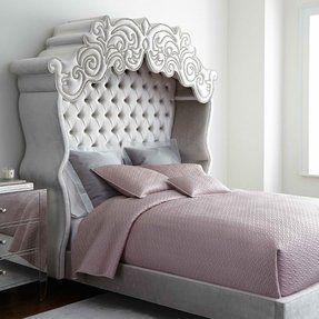 California king upholstered headboard 1