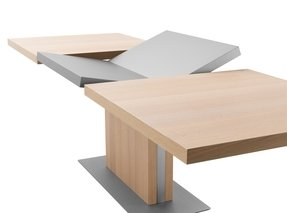 Contemporary pedestal dining table 1