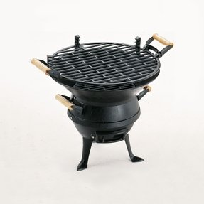 Quality cast iron barbecue outdoor cooking grills charcoal garden