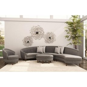 Small round sectional sofa