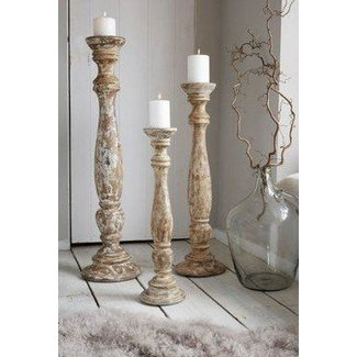 Large Wooden Candle Holders Ideas On Foter