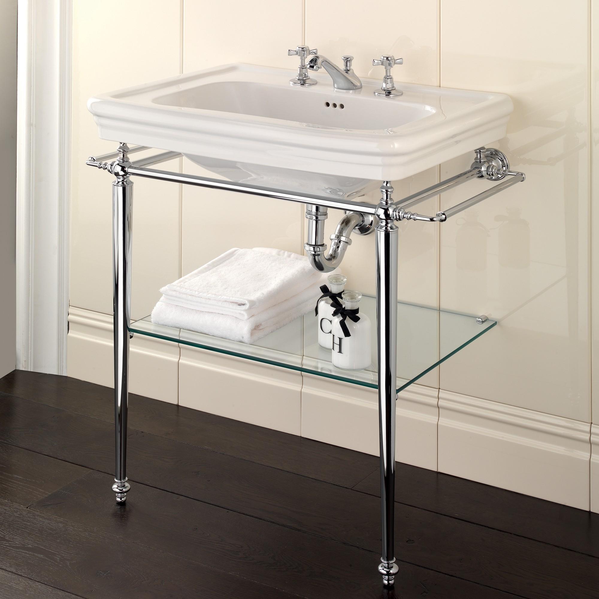 Ordinaire Bathroom Sink Console Table