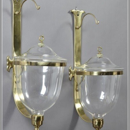 Brass candle wall sconces hurricane & Hurricane Wall Sconce Candle Holder - Foter