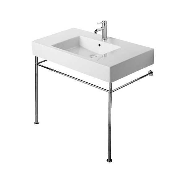Attractive Console Sink Chrome Legs