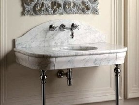 Console Sink With Metal Legs Ideas On Foter