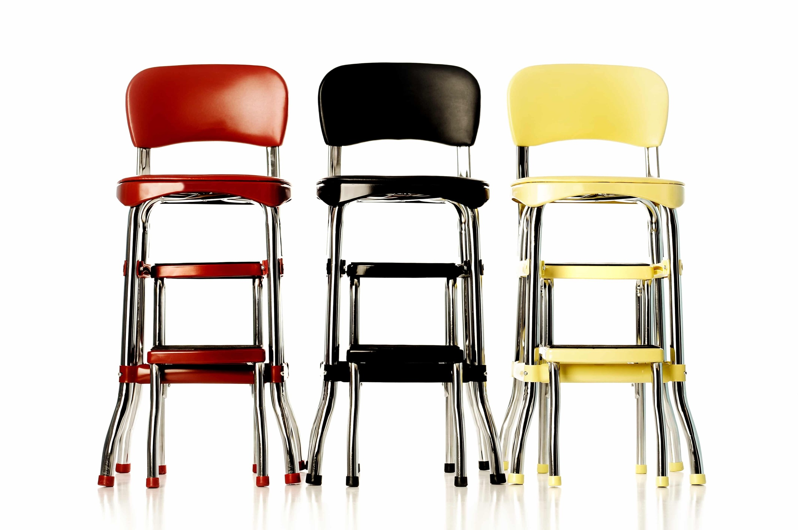This Set Of Characteristic Cosco Stools Constitutes A Perfect Option For  All Retro Lovers. Painted In Various Vibrant Lacquers, All Of Which  Correspond ...