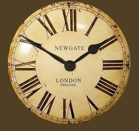 English wall clocks