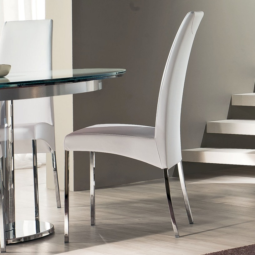 Eros High Back Modern Italian Dining Chair