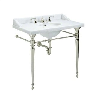 Console Sink With Metal Legs Ideas On
