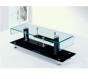 Glass metal tv stand 1