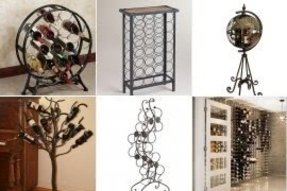 Metal Wine Racks Floor