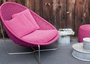 Pink patio furniture 3