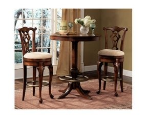 Queen anne bar stools 4