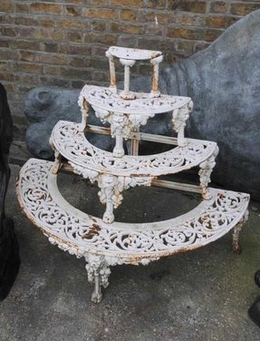 Wrought iron bakers rack 7