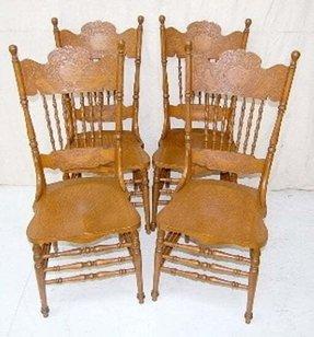 Oak Double Pressback Chairs Ideas On Foter