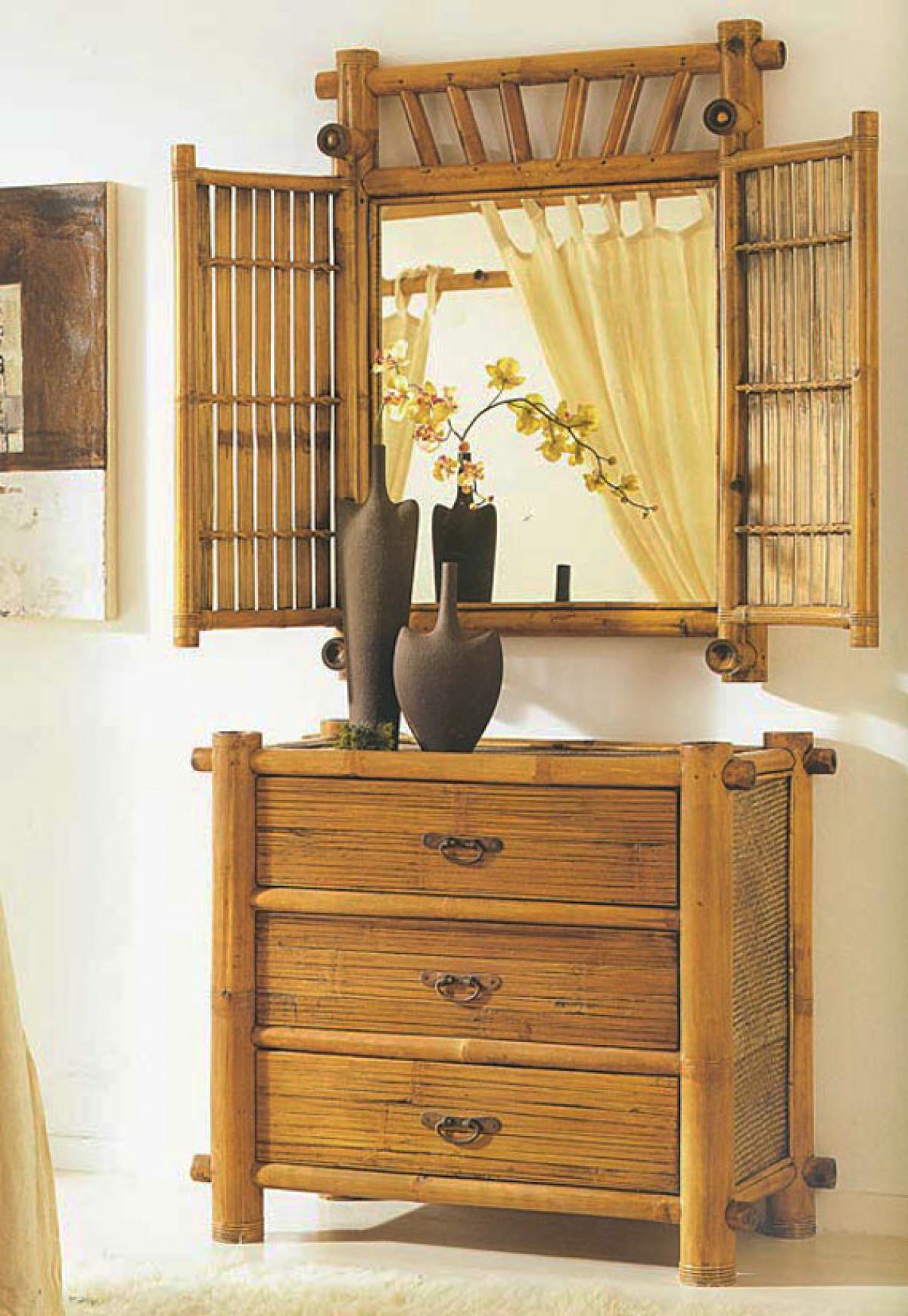 Beau Bamboo Bedroom Sets 5
