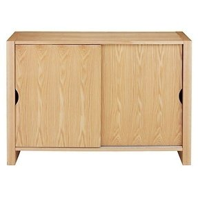 Buy john lewis logan sideboard with 2 sliding doors online