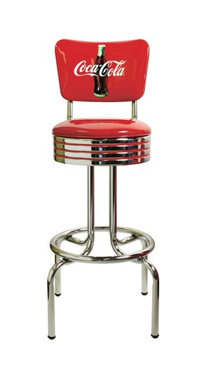 Chrome Coca Cola Bar Stools Ideas On Foter