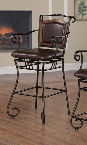 Steel Upholstered Bar Stools Ideas On Foter