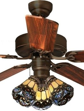 Stained glass ceiling fan light shades foter details about scrolls 3 light tiffany style stained glass ceiling aloadofball Images